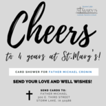 Card Shower for Father Michael