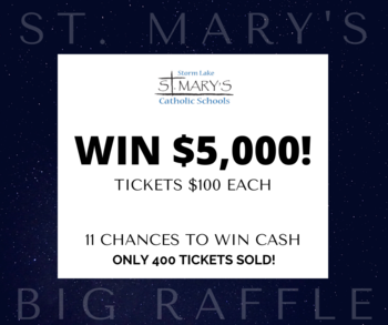 ST. MARY'S BIG RAFFLE TICKET