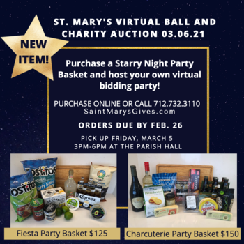 Purchase A Starry Night Party Basket!
