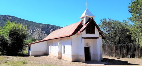 Pilar Catholic Church New Mexico
