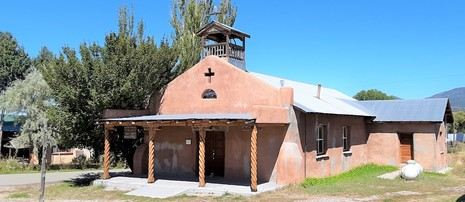 Chamisal Catholic Church New Mexico