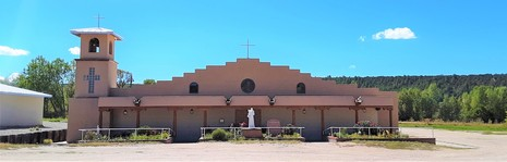 St. Anthony of Padua Catholic Church Penasco New Mexico