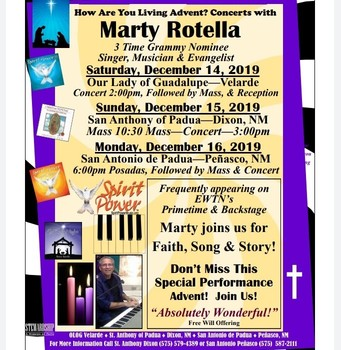 ADVENT CONCERTS with MARTY ROTELLA