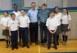 Disability Day Inspires St. Bernadette's Students