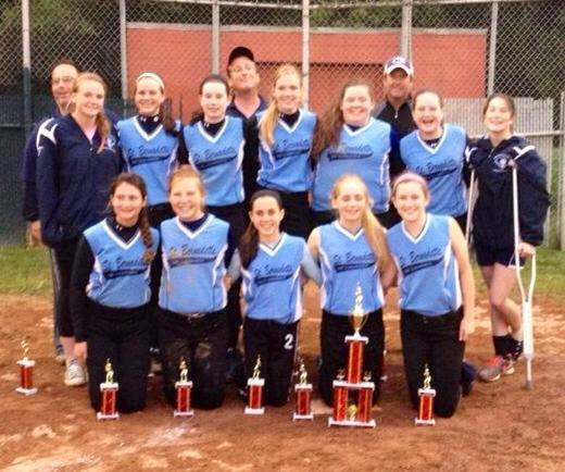 CYO Varsity Softball Are Region Champs!
