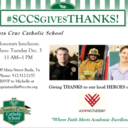 #SCCS Gives THANKS!