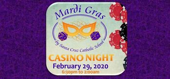 Mardi Gras Casino Night