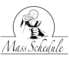 Mary, Mother of God, Mass Schedule