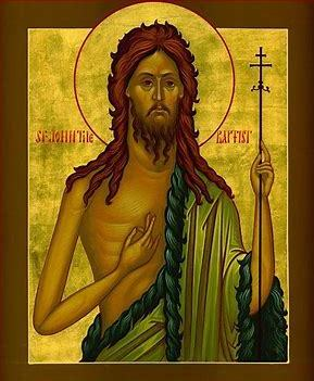 Solemnity of the Nativity of John the Baptist