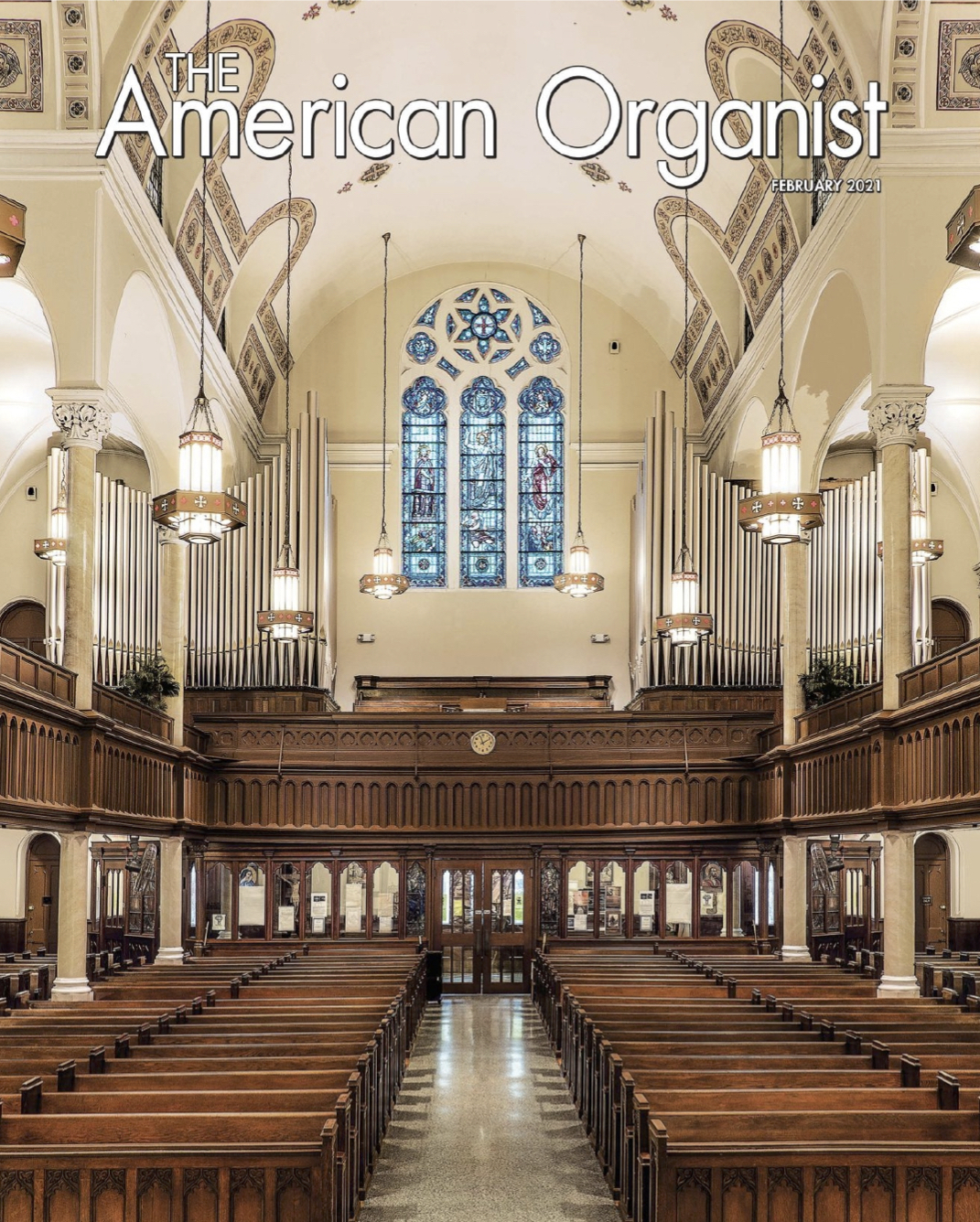 HOLY CROSS ORGAN  Featured in  TAO Magazine