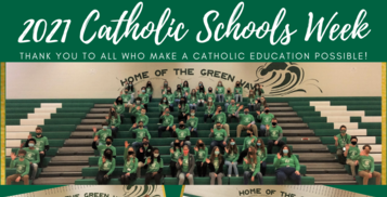 Holy Name Celebrates Catholic Schools Week!