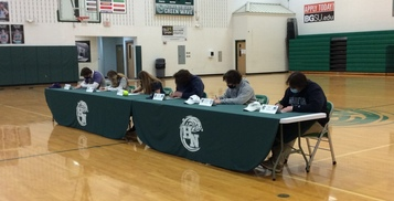 Senior Student-Athletes Announce Commitments to Colleges