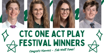 Namers Nearly Sweep Awards at CTC One Act Play Festival