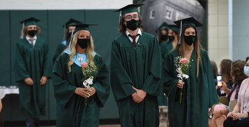 Baccalaureate Mass, Tribute to Mary and Senior Sunset: Photos