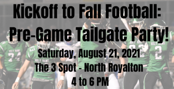 Kickoff to Fall Football: Pre-Game Tailgate Party