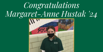 Margaret-Anne Hustak '24 Wins Stop the Hate Essay Contest