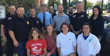 Students Provide Meals to PHPD & PHFD