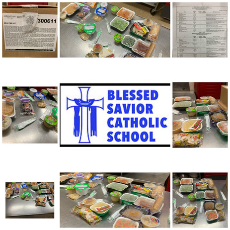 NEW: 5 DAY BREAKFAST/LUNCH PACK FOR ALL BLESSED SAVIOR STUDENTS!