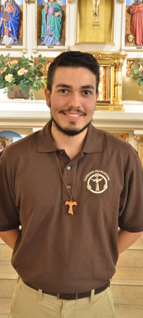 Francisco Chavez, New Postulant