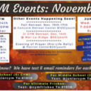 CYM Events for November