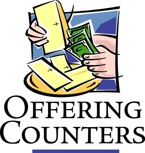 Offering Counters | Money Counters | St John the Apostle Catholic Church | Leesburg VA