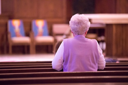 widow in church | Widows Group - Next Chapter | St John the Apostle Catholic Church | Leesburg VA