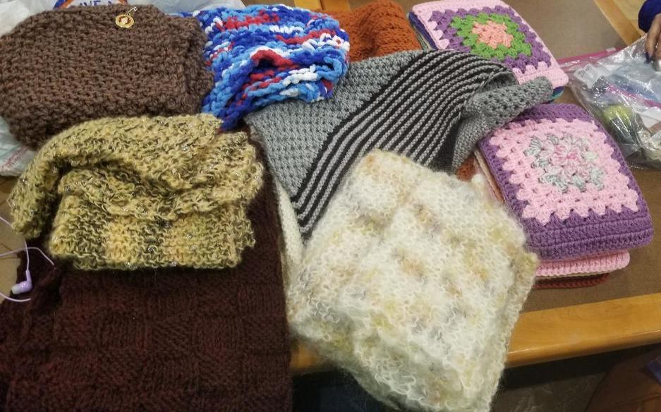 Shawls, Scarves and Squares 01272020 -Prayer Shawl Ministry | St. John the Apostle Catholic Church | Leesburg VA.