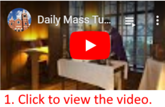 Video Directions | St John the Apostle Catholic Church | Leesburg VA