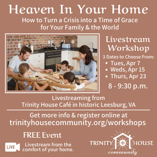 Livestream: Heaven in Your Home Workshop