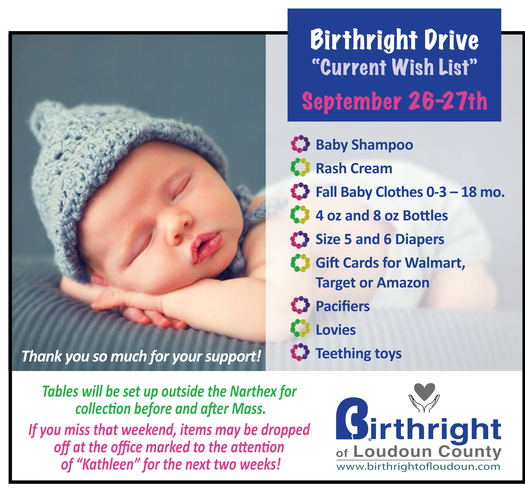 Girl Reading | Birthright | St John the Apostle Catholic Church | Leesburg VA