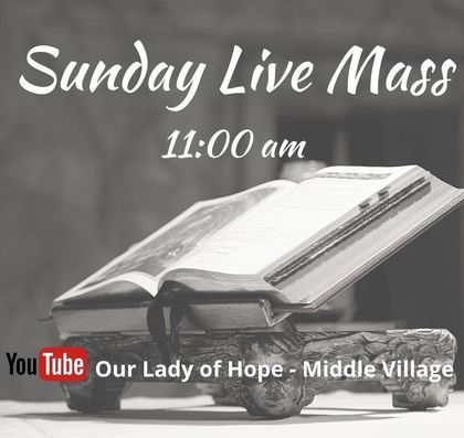 Live Stream Sunday Mass