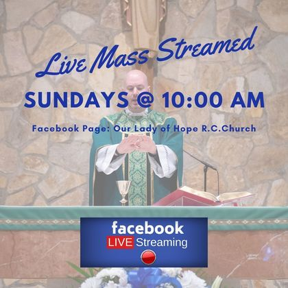 Mass live streamed on Facebook