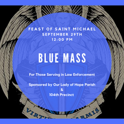 Blue Mass for Police