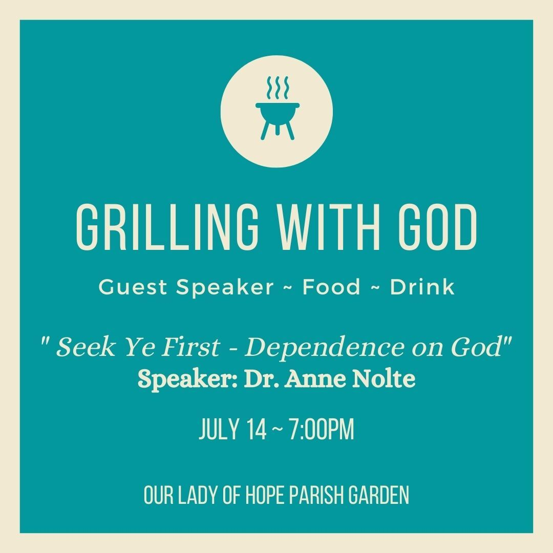 Grilling with God