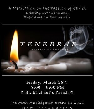 Tenebrae at St. Michaels Parish in Oakville