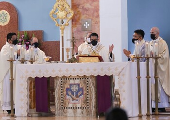 Fr. William Mamangun Assigned to the Cathedral-Basilica