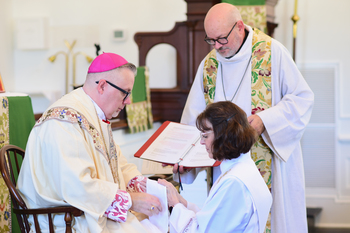 Deacon Karen Gordon Ordained to the Priesthood