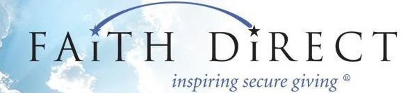 faith direct logo inspiring secure giving diocese lafayette indiana