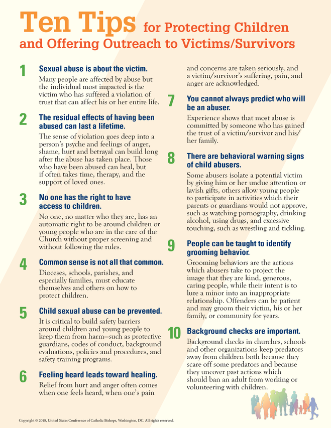 Ten Tips for Protecting Children and Offering Outreach to
