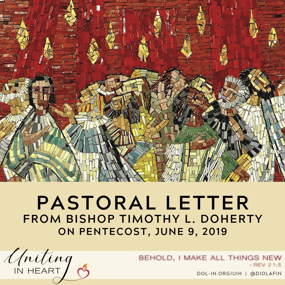 Pastoral Letter for The Catholic Moment