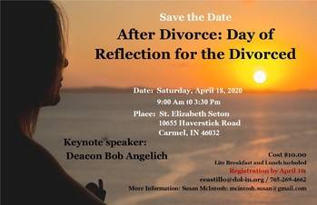 After Divorce: Day of Reflection for the Divorced