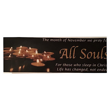 Pray for the souls in purgatory