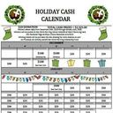 Cash Calendar Winners!