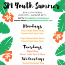 Youth Ministry Summer Events