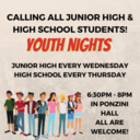 YOUTH NIGHTS / NOCHES JUVENILES