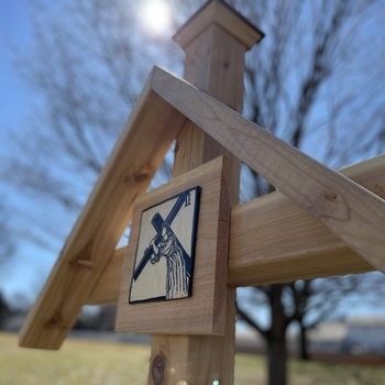 Blessing of Outdoor Stations of the Cross