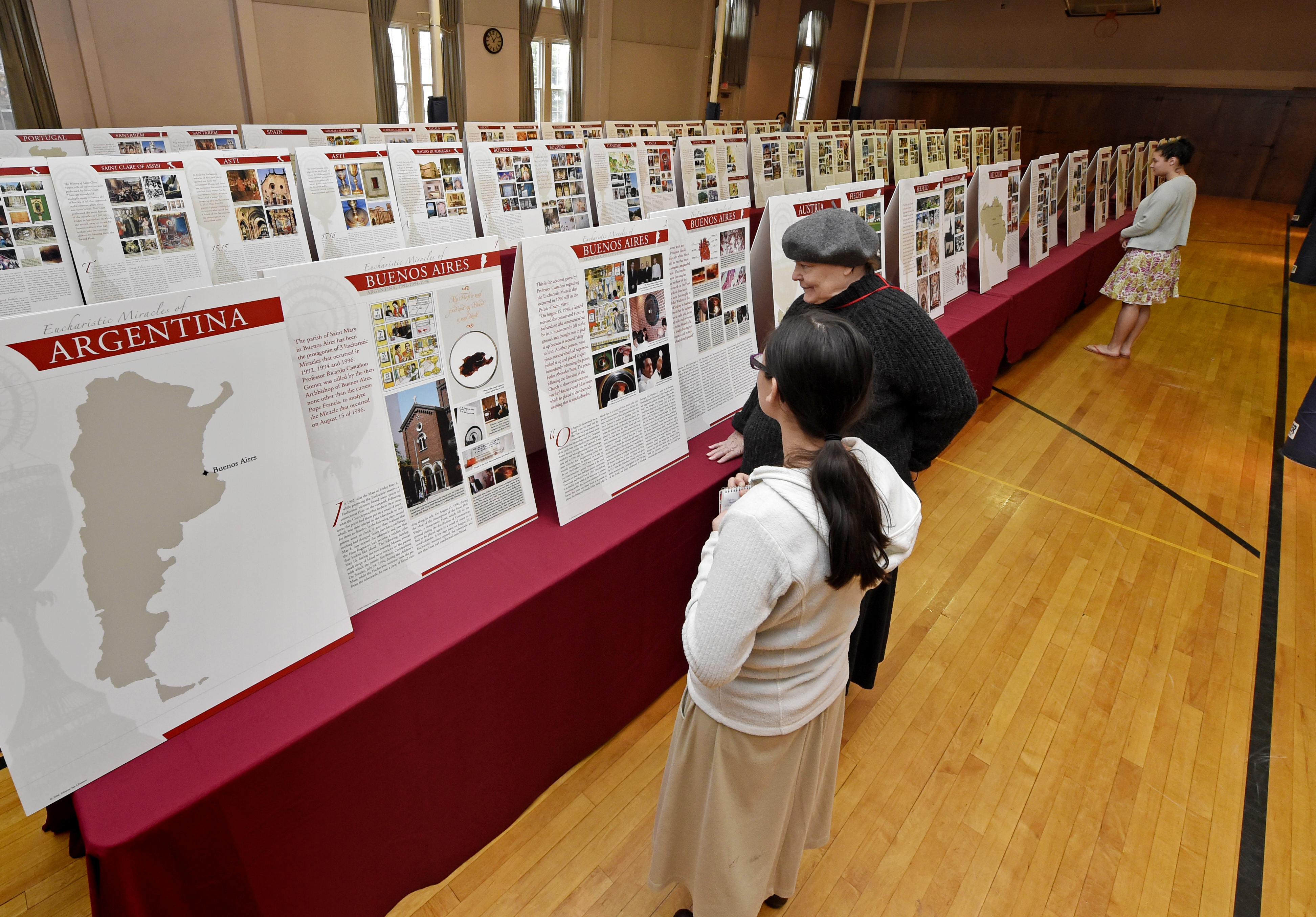 Vatican International Exhibit of the Eucharistic Miracles of the World