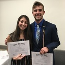 Alumni inducted into Delta Mu Delta