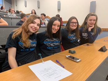 BC^2 competed in South Hills Lit Fest at Baldwin High School.