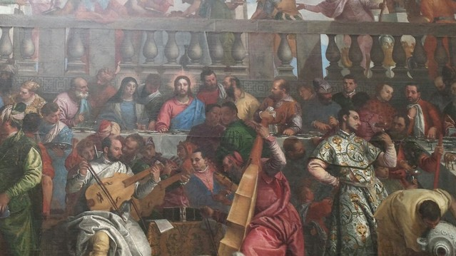 The Wedding Feast of Cana by Paolo Caliari, known as Veronese